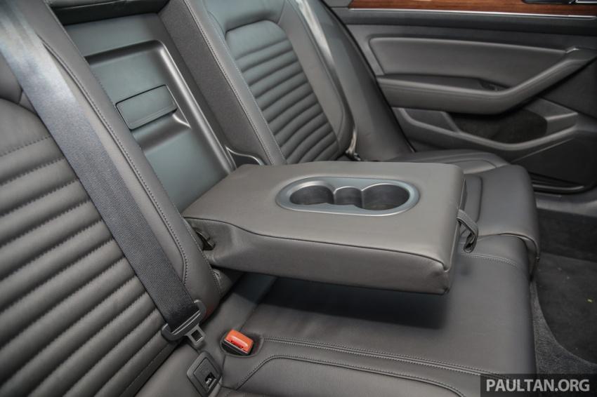 Volkswagen Passat B8 dipertonton awal sebelum pelancaran – pilihan enjin 1.8L dan 2.0L TSI, tiga varian Image #572425