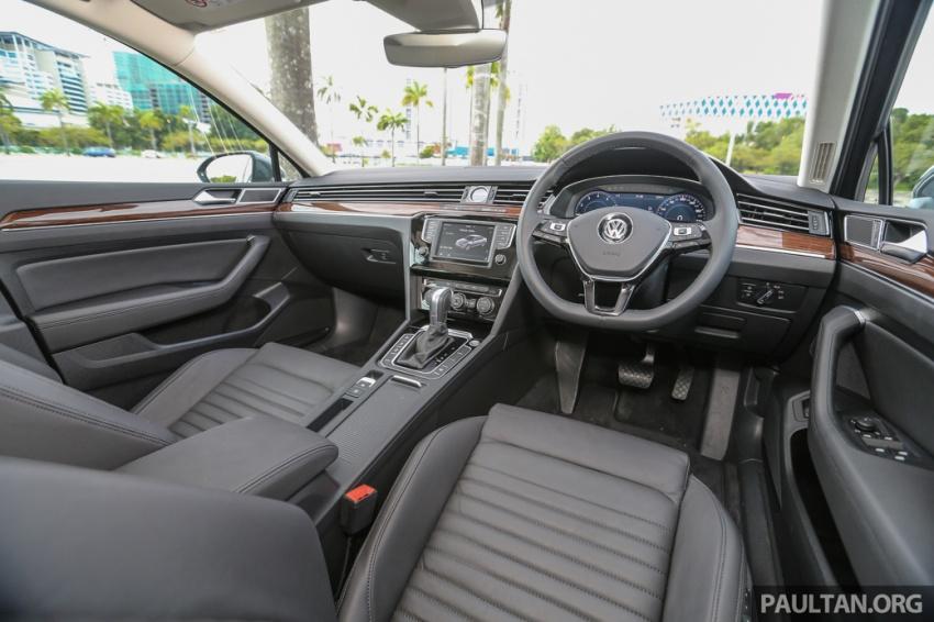 Volkswagen Passat B8 dipertonton awal sebelum pelancaran – pilihan enjin 1.8L dan 2.0L TSI, tiga varian Image #572427