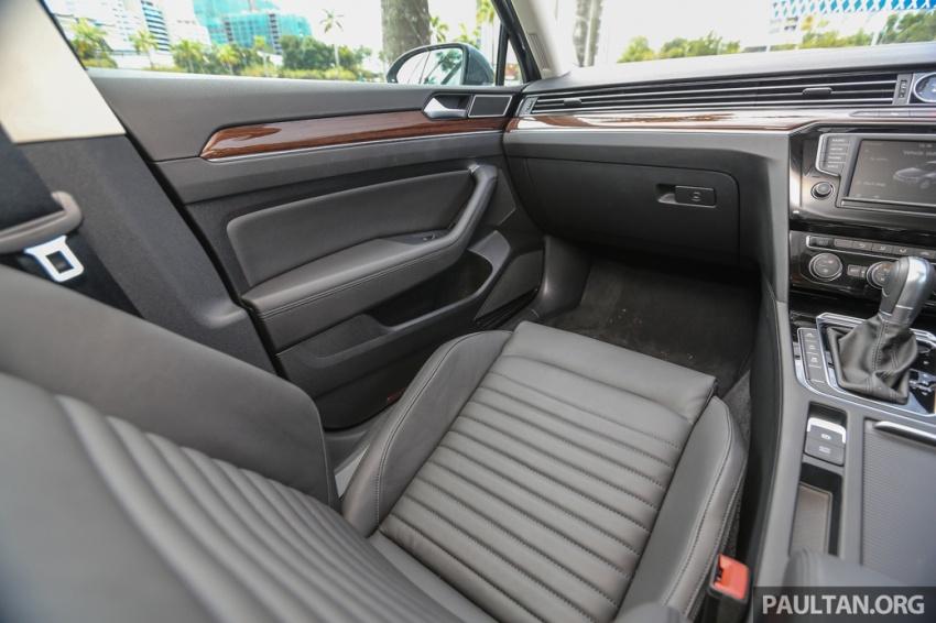 Volkswagen Passat B8 dipertonton awal sebelum pelancaran – pilihan enjin 1.8L dan 2.0L TSI, tiga varian Image #572430