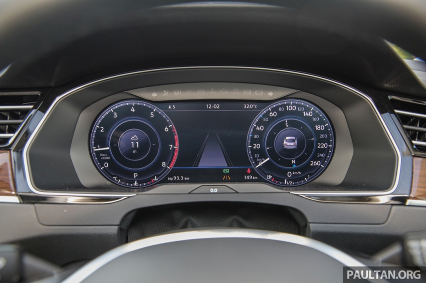 Volkswagen Passat B8 dipertonton awal sebelum pelancaran – pilihan enjin 1.8L dan 2.0L TSI, tiga varian Image #572390