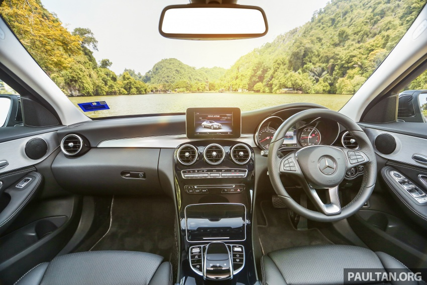 DRIVEN: W205 Mercedes-Benz C180 Avantgarde Line road trip to Banjaran, Ipoh – entry-levelled up? Image #571322