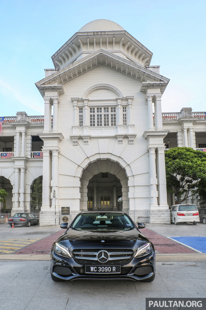 DRIVEN: W205 Mercedes-Benz C180 Avantgarde Line road trip to Banjaran, Ipoh – entry-levelled up? Image #571332