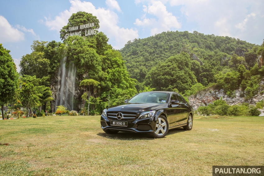 DRIVEN: W205 Mercedes-Benz C180 Avantgarde Line road trip to Banjaran, Ipoh – entry-levelled up? Image #571323