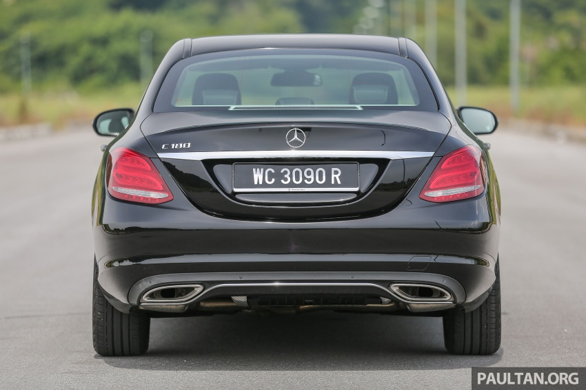 DRIVEN: W205 Mercedes-Benz C180 Avantgarde Line road trip to Banjaran, Ipoh – entry-levelled up? Image #571348