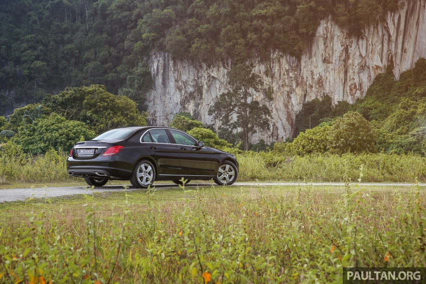DRIVEN: W205 Mercedes-Benz C180 Avantgarde Line road trip to Banjaran, Ipoh – entry-levelled up? Image #571324