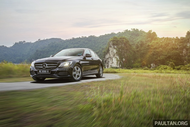 driven: w205 mercedes-benz c180 avantgarde line review - road trip