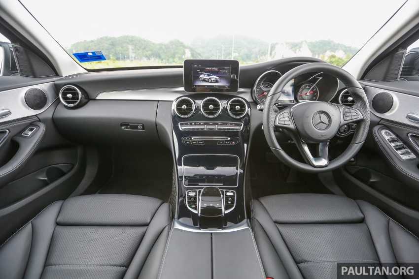 DRIVEN: W205 Mercedes-Benz C180 Avantgarde Line road trip to Banjaran, Ipoh – entry-levelled up? Image #571371