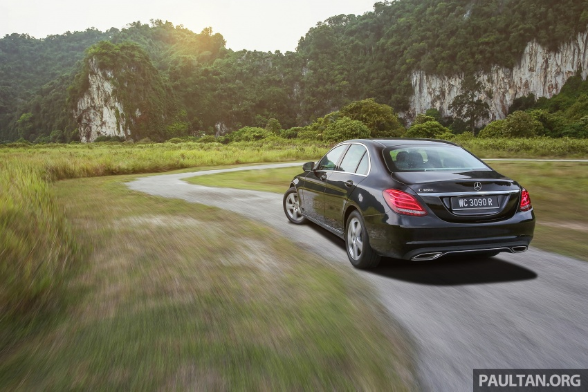 DRIVEN: W205 Mercedes-Benz C180 Avantgarde Line road trip to Banjaran, Ipoh – entry-levelled up? Image #571326