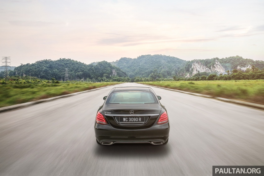 DRIVEN: W205 Mercedes-Benz C180 Avantgarde Line road trip to Banjaran, Ipoh – entry-levelled up? Image #571327