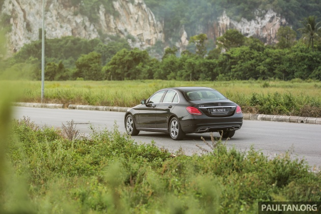 DRIVEN: W205 Mercedes-Benz C180 Avantgarde Line review - road trip