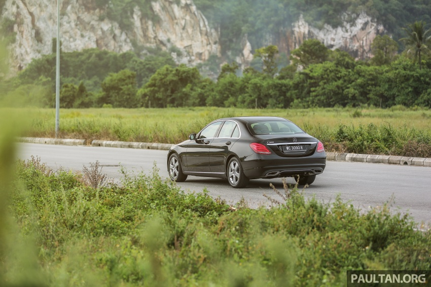DRIVEN: W205 Mercedes-Benz C180 Avantgarde Line road trip to Banjaran, Ipoh – entry-levelled up? Image #571328