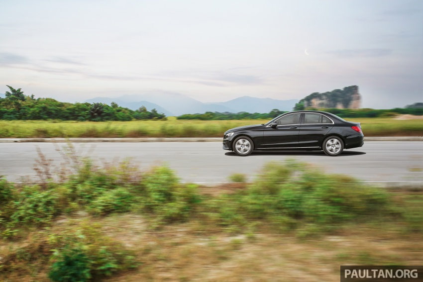 DRIVEN: W205 Mercedes-Benz C180 Avantgarde Line road trip to Banjaran, Ipoh – entry-levelled up? Image #571329