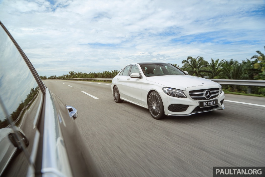 DRIVEN: W205 Mercedes-Benz C300 AMG Line road trip to Penang – setting new compact executive rules Image #560390
