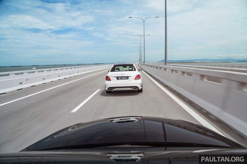 DRIVEN: W205 Mercedes-Benz C300 AMG Line road trip to Penang – setting new compact executive rules Image #560391