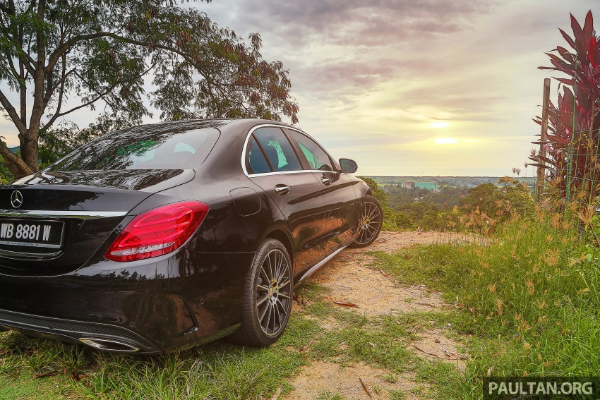 DRIVEN: W205 Mercedes-Benz C300 AMG Line road trip to Penang – setting new compact executive rules Image #560400