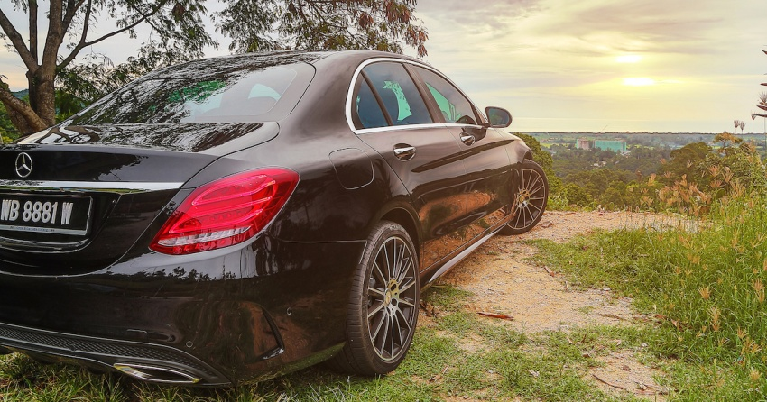 DRIVEN: W205 Mercedes-Benz C300 AMG Line road trip to Penang – setting new compact executive rules Image #560445