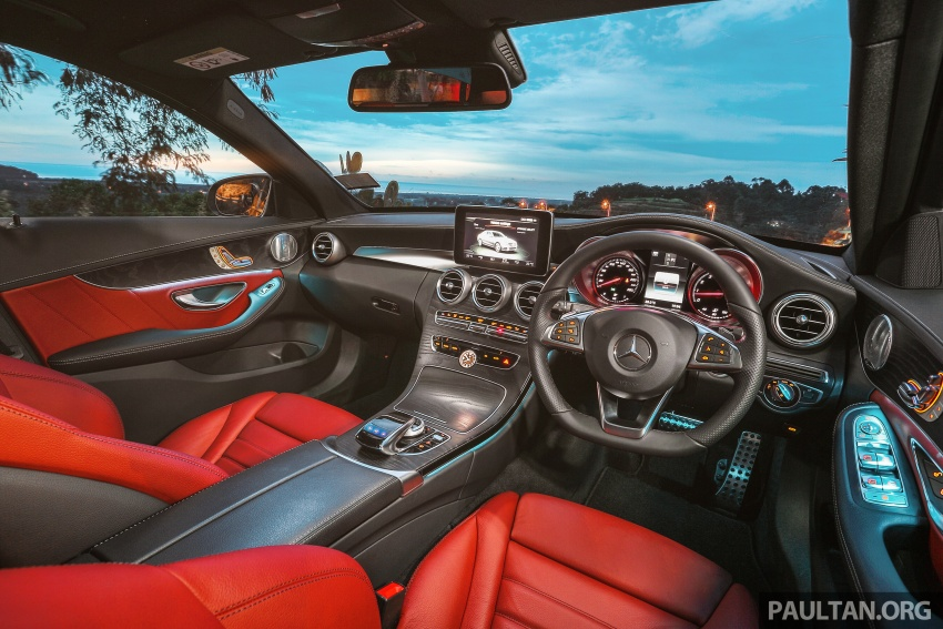 DRIVEN: W205 Mercedes-Benz C300 AMG Line road trip to Penang – setting new compact executive rules Image #560402