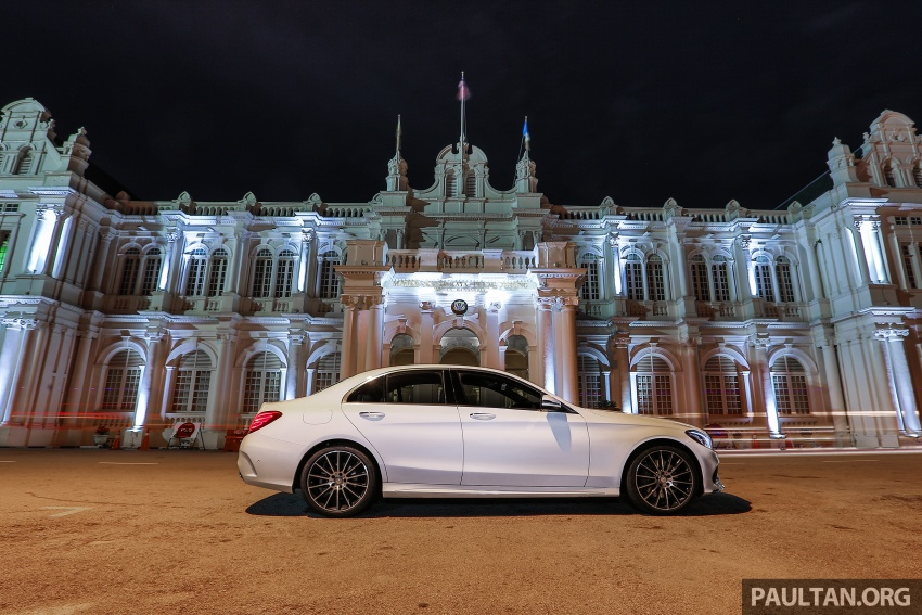 DRIVEN: W205 Mercedes-Benz C300 AMG Line road trip to Penang – setting new compact executive rules Image #560403