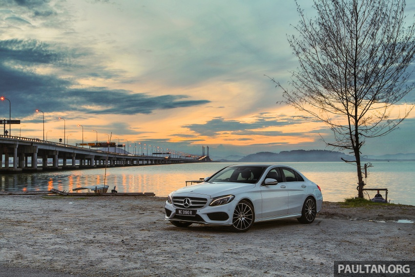 DRIVEN: W205 Mercedes-Benz C300 AMG Line road trip to Penang – setting new compact executive rules Image #560404