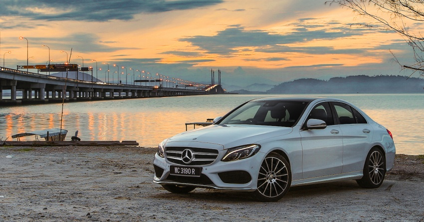 DRIVEN: W205 Mercedes-Benz C300 AMG Line road trip to Penang – setting new compact executive rules Image #560446