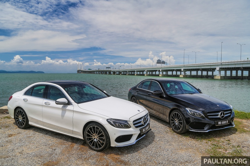 DRIVEN: W205 Mercedes-Benz C300 AMG Line road trip to Penang – setting new compact executive rules Image #560406