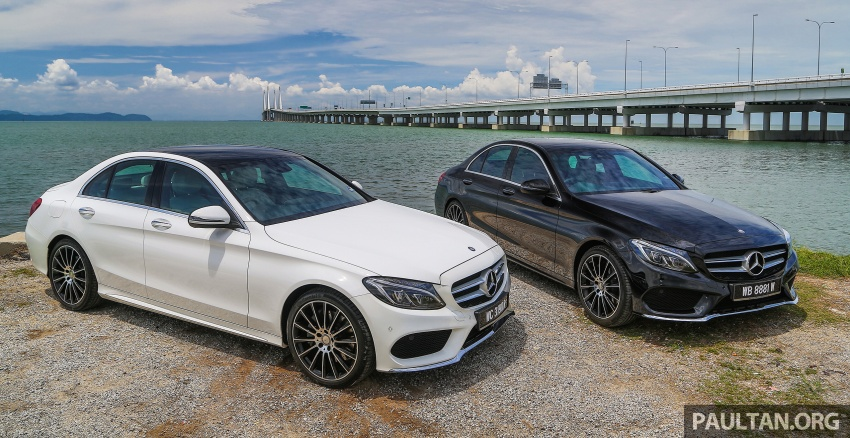 DRIVEN: W205 Mercedes-Benz C300 AMG Line road trip to Penang – setting new compact executive rules Image #560444