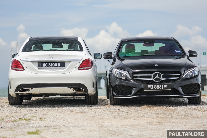 DRIVEN: W205 Mercedes-Benz C300 AMG Line road trip to Penang – setting new compact executive rules Image #560407