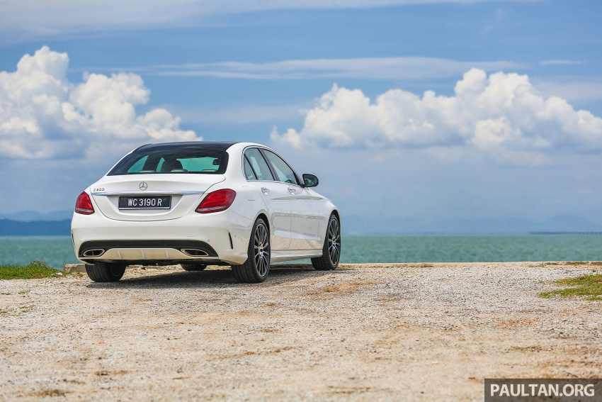 DRIVEN: W205 Mercedes-Benz C300 AMG Line road trip to Penang – setting new compact executive rules Image #560408