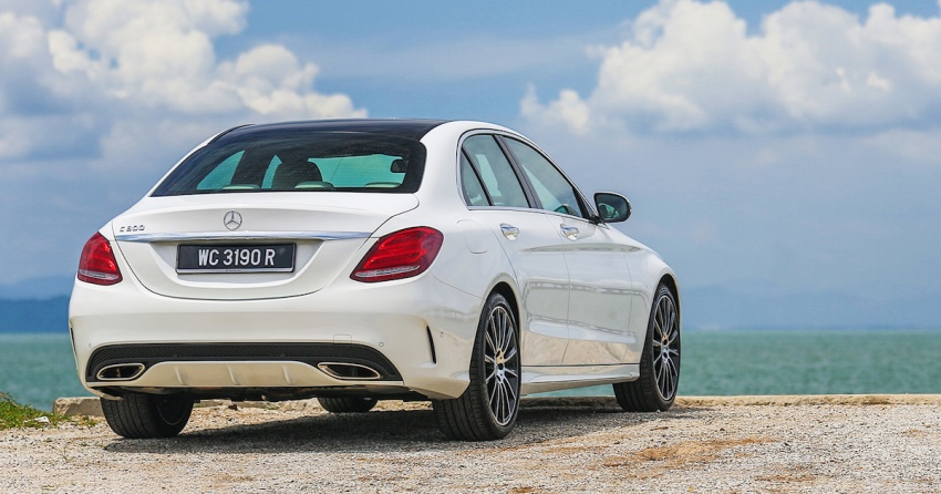 DRIVEN: W205 Mercedes-Benz C300 AMG Line road trip to Penang – setting new compact executive rules Image #560447