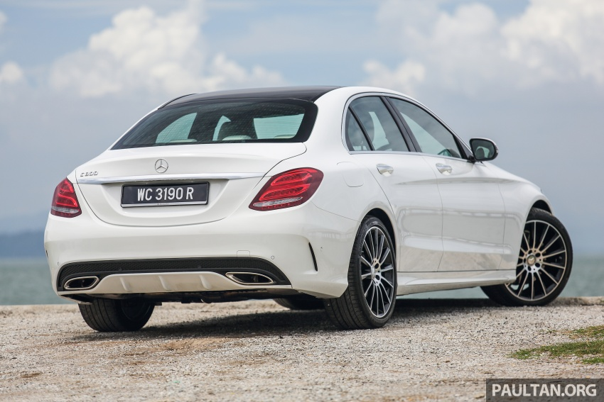DRIVEN: W205 Mercedes-Benz C300 AMG Line road trip to Penang – setting new compact executive rules Image #560411
