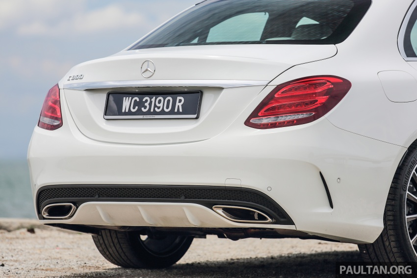 DRIVEN: W205 Mercedes-Benz C300 AMG Line road trip to Penang – setting new compact executive rules Image #560412