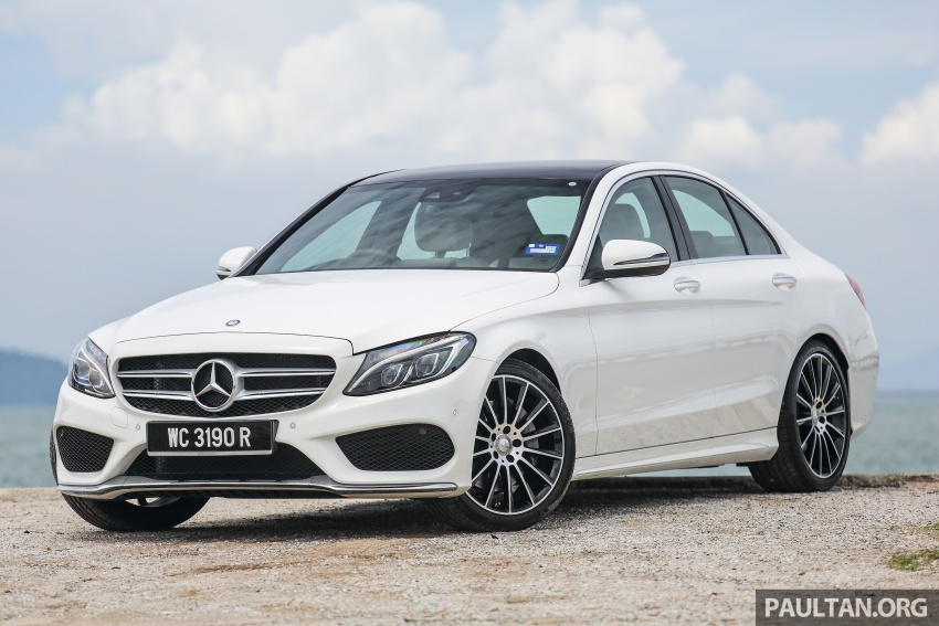 DRIVEN: W205 Mercedes-Benz C300 AMG Line road trip to Penang – setting new compact executive rules Image #560417