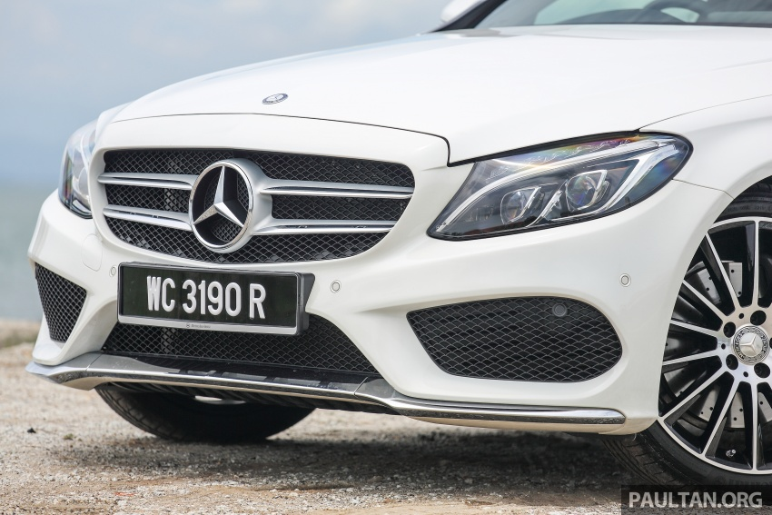 DRIVEN: W205 Mercedes-Benz C300 AMG Line road trip to Penang – setting new compact executive rules Image #560418