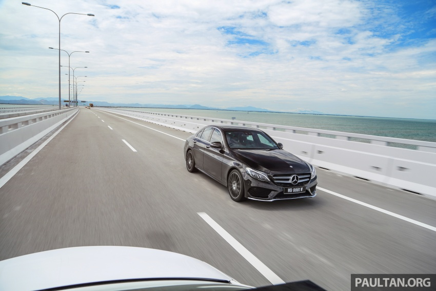 DRIVEN: W205 Mercedes-Benz C300 AMG Line road trip to Penang – setting new compact executive rules Image #560393