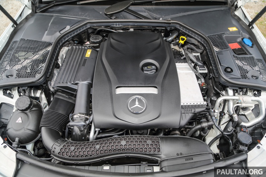 DRIVEN: W205 Mercedes-Benz C300 AMG Line road trip to Penang – setting new compact executive rules Image #560423