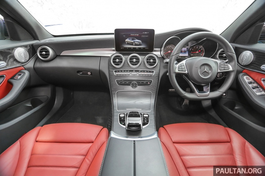 DRIVEN: W205 Mercedes-Benz C300 AMG Line road trip to Penang – setting new compact executive rules Image #560431