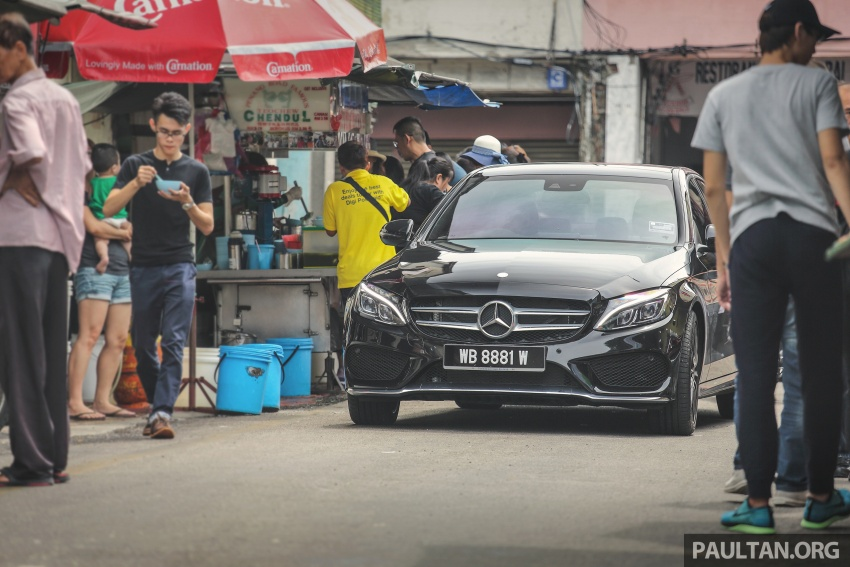 DRIVEN: W205 Mercedes-Benz C300 AMG Line road trip to Penang – setting new compact executive rules Image #560395