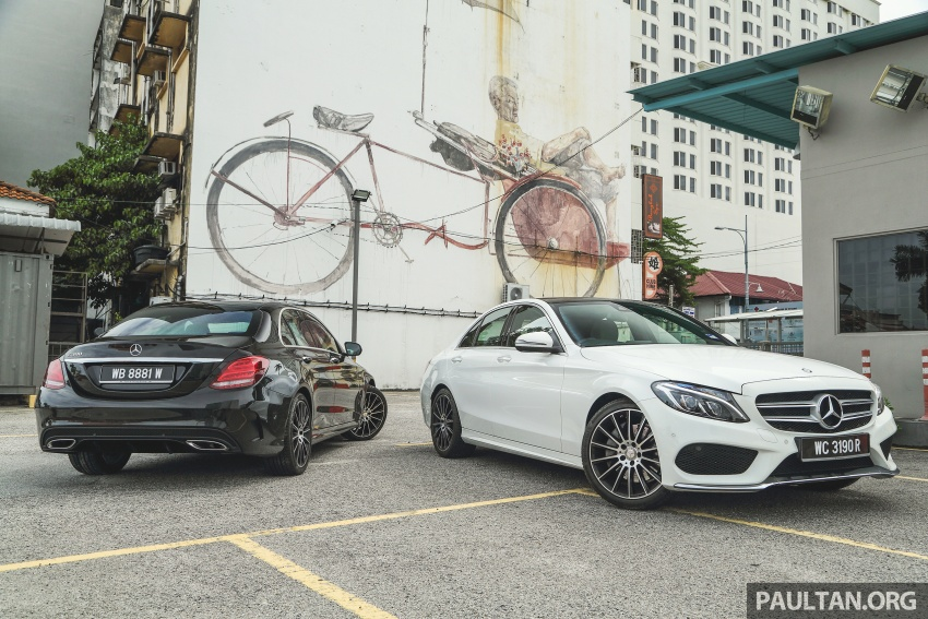 DRIVEN: W205 Mercedes-Benz C300 AMG Line road trip to Penang – setting new compact executive rules Image #560397