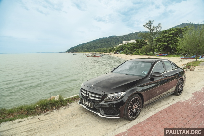 DRIVEN: W205 Mercedes-Benz C300 AMG Line road trip to Penang – setting new compact executive rules Image #560398