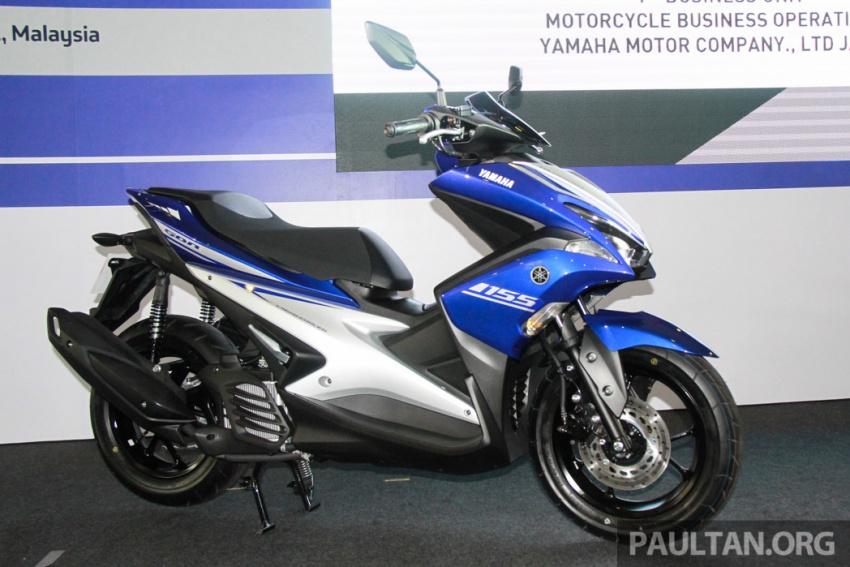 Yamaha NVX 155 muncul di Sepang – penampilan pertama bagi negara Asean, dilancar awal 2017 Image #571559