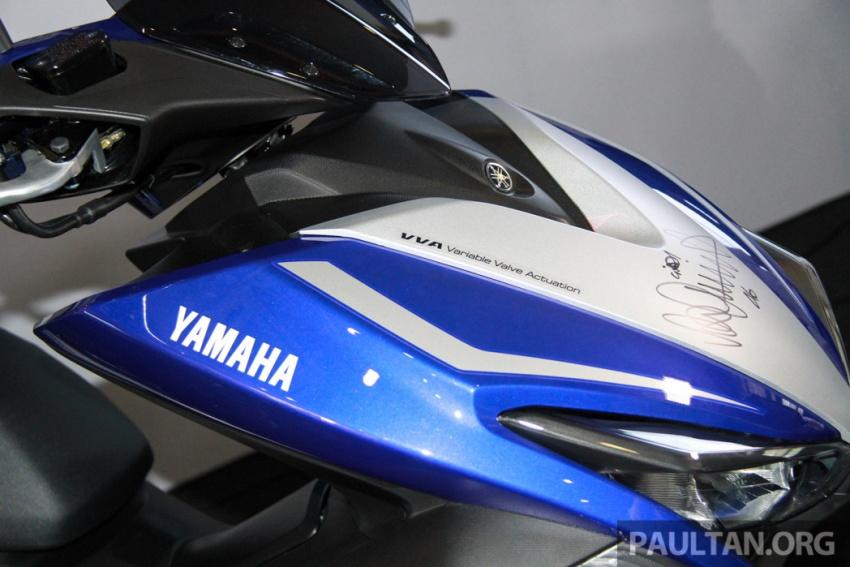 Yamaha NVX 155 muncul di Sepang – penampilan pertama bagi negara Asean, dilancar awal 2017 Image #571561