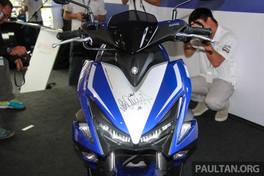 Yamaha NVX 155 muncul di Sepang – penampilan pertama bagi negara Asean, dilancar awal 2017 Image #571562