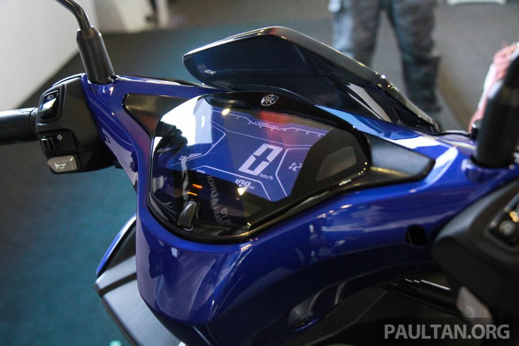 Yamaha nvx 155 muncul di sepang penampilan pertama bagi for Yamaha philippines price list 2017