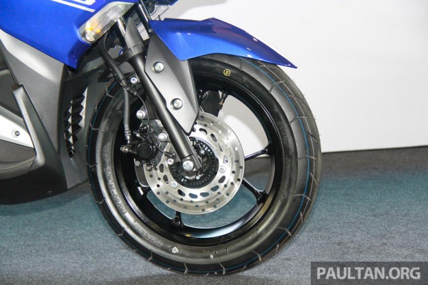 Yamaha NVX 155 muncul di Sepang – penampilan pertama bagi negara Asean, dilancar awal 2017 Image #571557