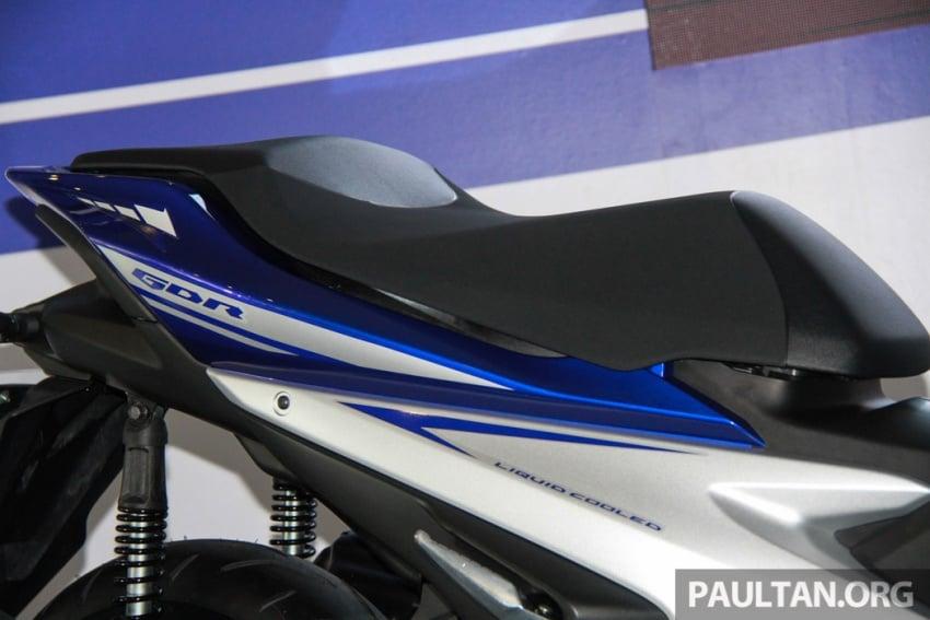 Yamaha NVX 155 muncul di Sepang – penampilan pertama bagi negara Asean, dilancar awal 2017 Image #571558