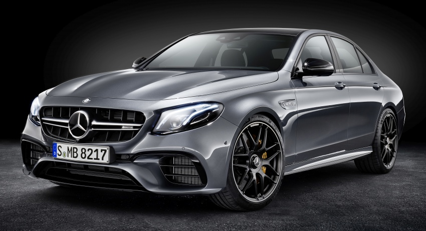 W213 Mercedes-AMG E63 4Matic+ and E63 S 4Matic+ debuts – the most powerful E-Class, ever Image #569604