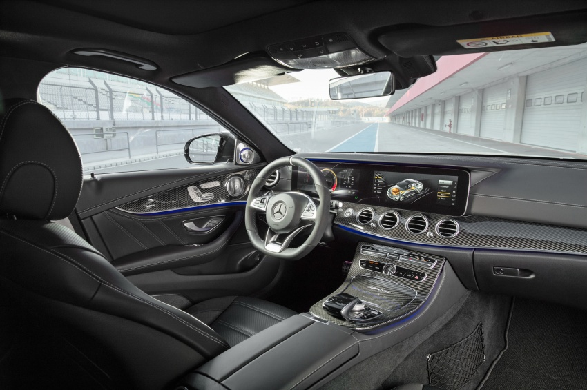 W213 Mercedes-AMG E63 4Matic+ and E63 S 4Matic+ debuts – the most powerful E-Class, ever Image #569574