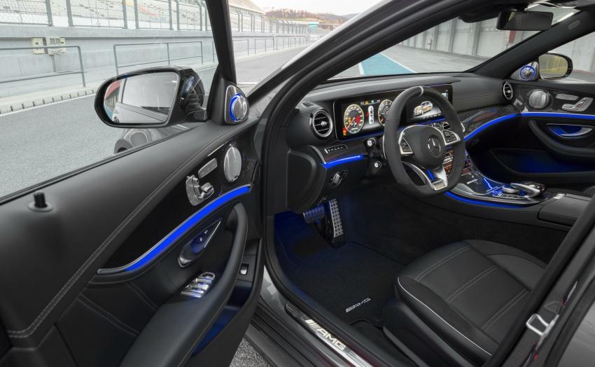 Mercedes-AMG W213 E63 4MATIC+ dan E63 S 4MATIC+ – E-Class paling berkuasa pernah dihasilkan Image #570294