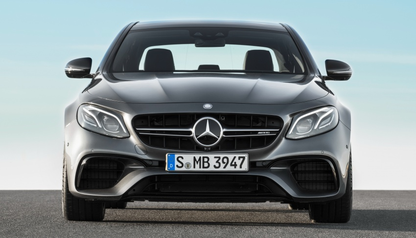 W213 Mercedes-AMG E63 4Matic+ and E63 S 4Matic+ debuts – the most powerful E-Class, ever Image #569653