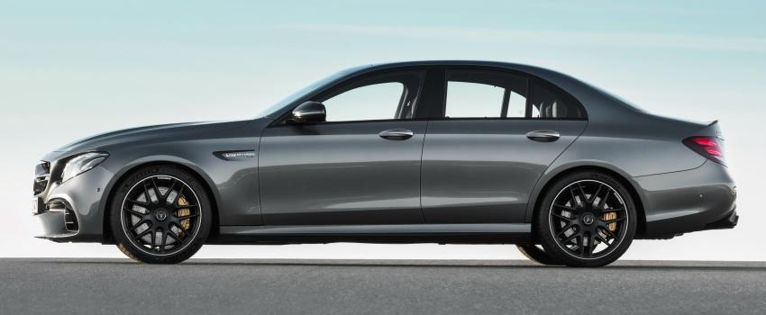 Mercedes-AMG W213 E63 4MATIC+ dan E63 S 4MATIC+ – E-Class paling berkuasa pernah dihasilkan Image #570311